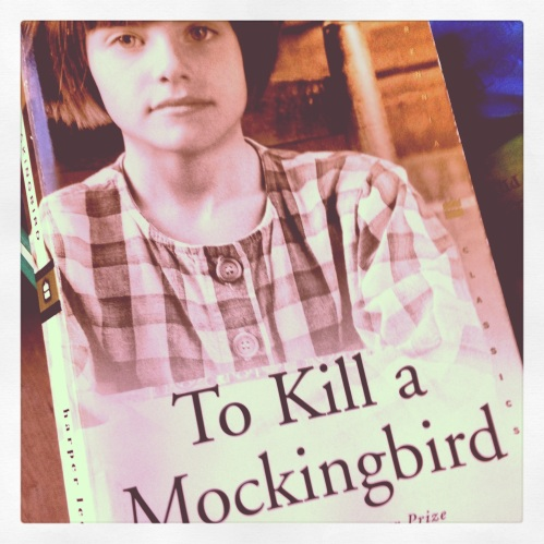 """Until I feared I would lose it, I never loved to read. One does not love breathing."" –Scout Finch in To Kill a Mockingbird"