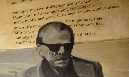 Detail from inside Bukowski Tavern in Boston