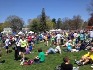 ramble crowd post race