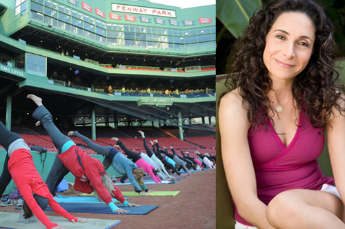 Boston's Fenway Park will serve as Mandy Ingber's yoga studio this Sunday.